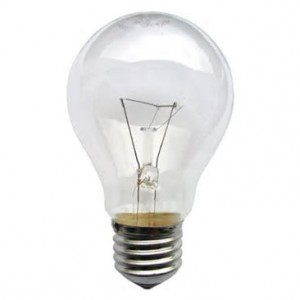 Soon to be history, incandescent bulb