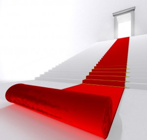 Roll out the red carpet for your patients.