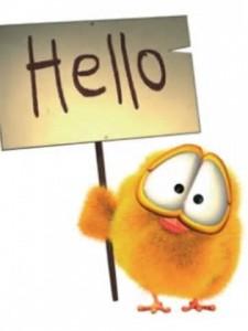 """""""Hello!"""""""